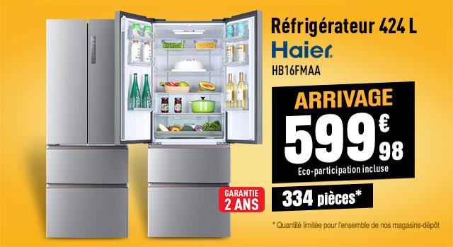 Réfrigérateur 4 portes HAIER HB16FMAA