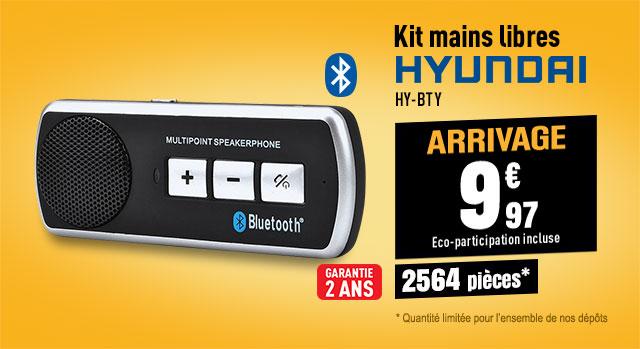 Kit Mains-Libres HYUNDAI HY-BTY992S noir