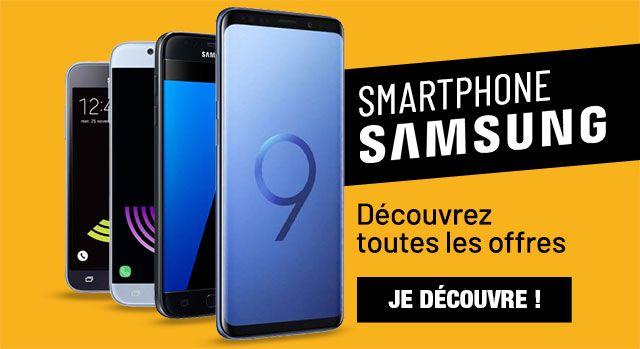Tous les smartphones Samsung