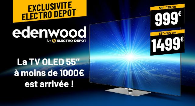 Nouvelle Télé Oled Edenwood