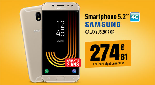 Mobile SAMSUNG Galaxy J5 2017 or