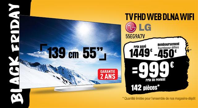 TV OLED LG 55EG9A7V FHD WEB DLNA WIFI