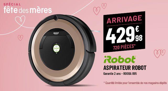 Aspirateur robot IROBOT 895