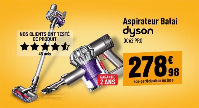 Aspirateur Balai DYSON DC62 Pro