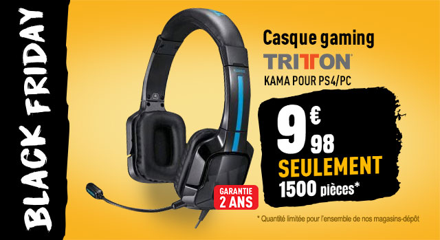 Casque gaming TRITTON kama pour PS4/PC