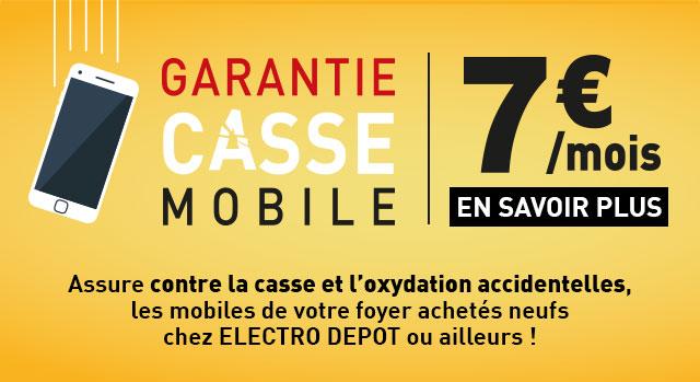 Garantie Casse Mobile