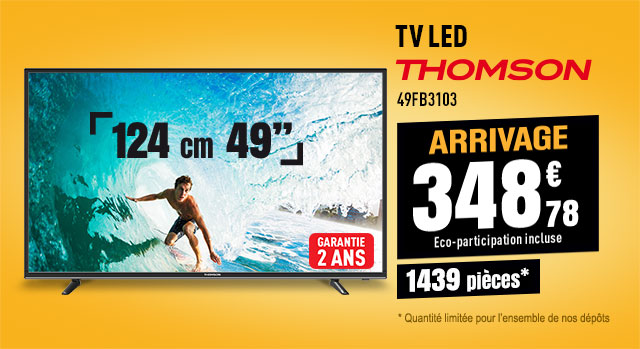 TV LED THOMSON 49FB3103