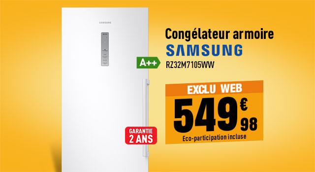 Congélateur armoire SAMSUNG RZ32M7105WW