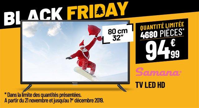 TV LED SAMANA SA32001HD