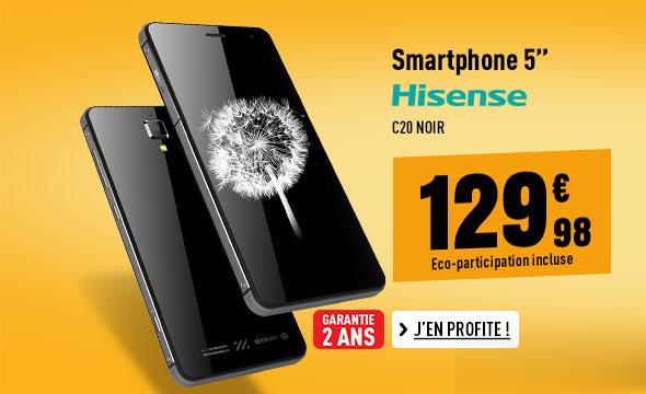 Smartphone HISENSE C20 noir