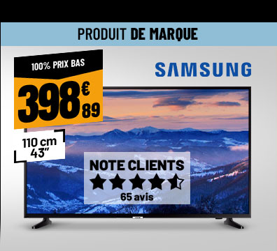 TV UHD 4K SAMSUNG UE43NU7025 Smart Wifi