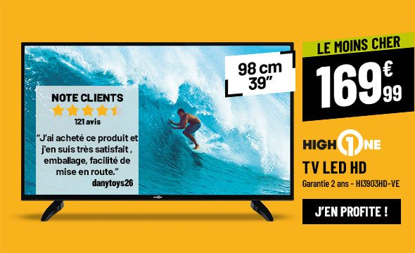 TV LED HIGH ONE HI3903HD-VE
