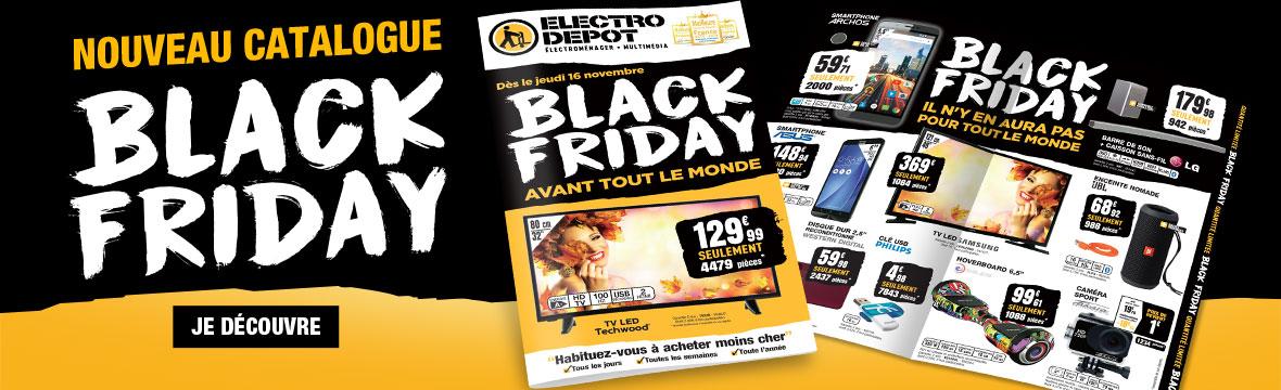Nouveau catalogue! Sépacial Black Friday!