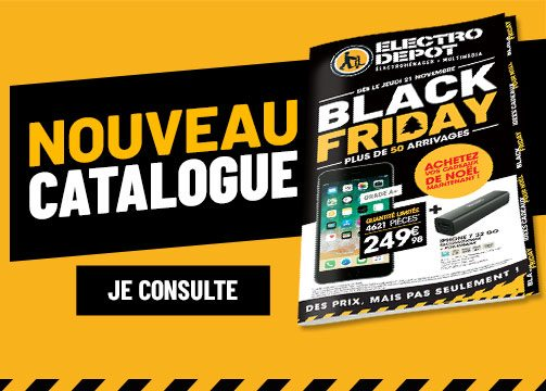 Nouveau catalogue : Black Friday