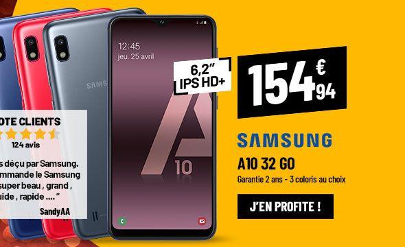 Smartphone Samsung A10 32Go