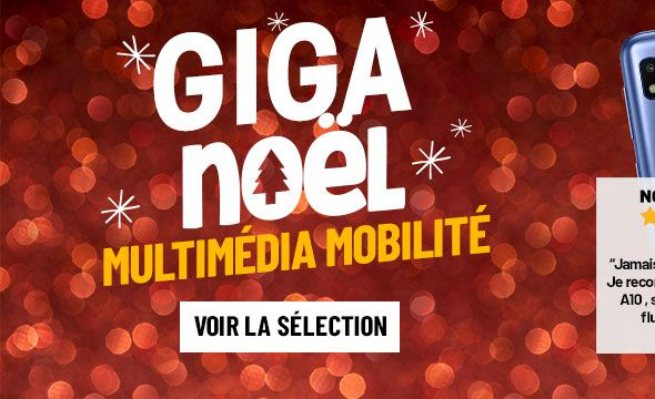 Giga Noël : Multimédia Mobilité