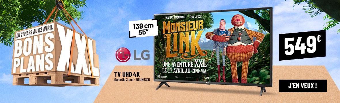 Bon Plan TV LG