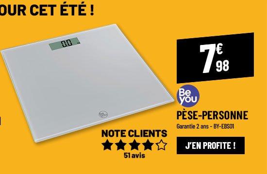 Pèse-personne électrique BE YOU BY-EBS01