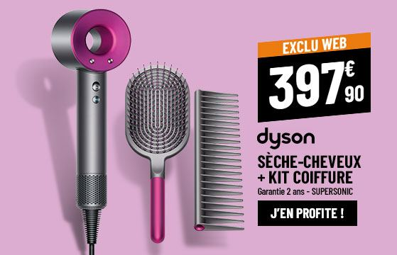 Sèche Cheveux DYSON SUPERSONIC HD01 + KIT COIFFURE