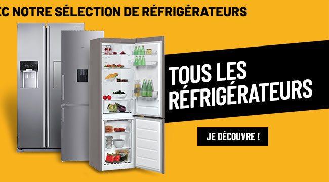 Nos réfrigérateurs