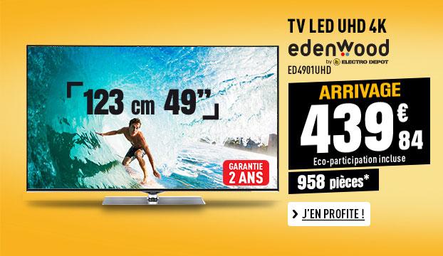 TV UHD 4K EDENWOOD ED4901UHD CONNECTEE