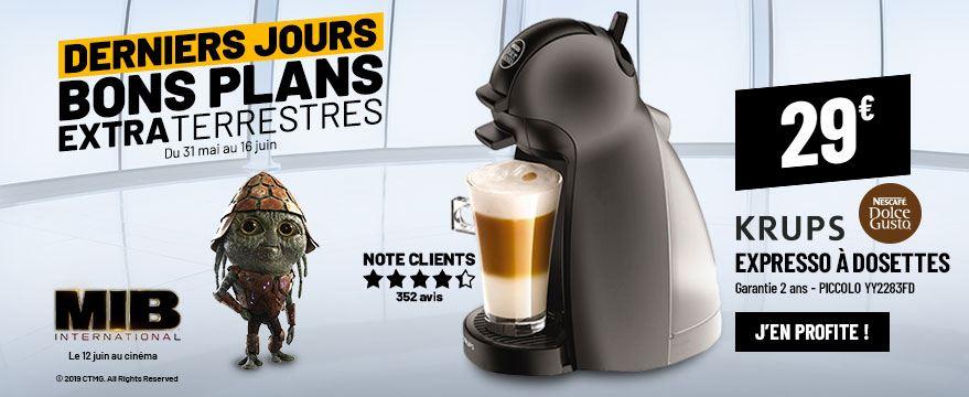 Cafetière Expresso KRUPS PICCOLO YY2283FD