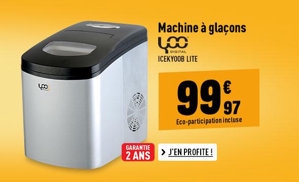 Machine à glaçons YOO DIGITAL ICEKYOOB Lite
