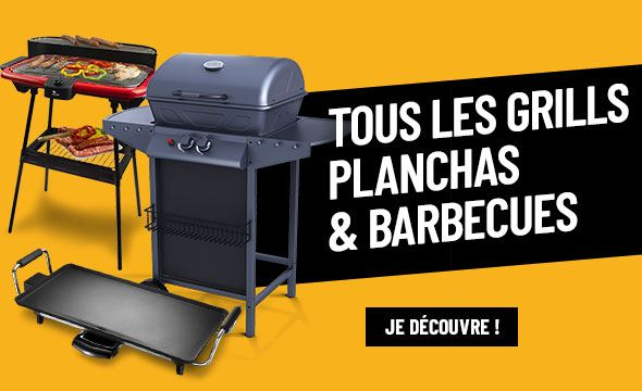 Tous les gills, planchas & barbecues