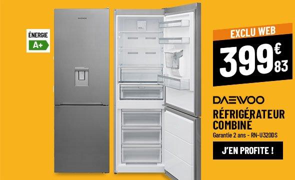 Réfrigérateur combiné DAEWOO RN-U320DS