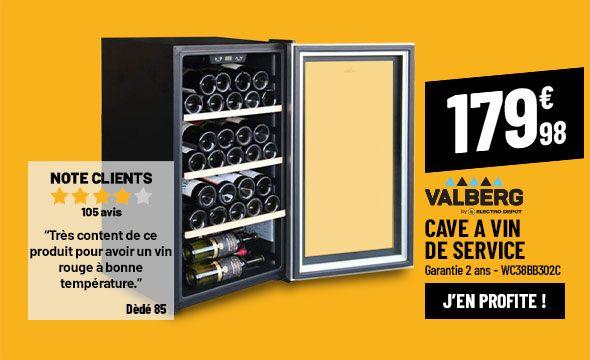 Cave à vin de service VALBERG