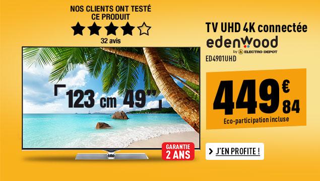 Electro depot lectrom nager pas cher image son multim dia electro d p t - Tv paiement en 4 fois ...