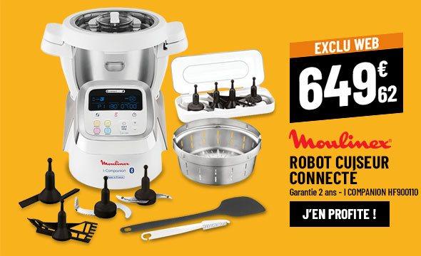 Robot cuiseur connecté MOULINEX I COMPANION HF900110