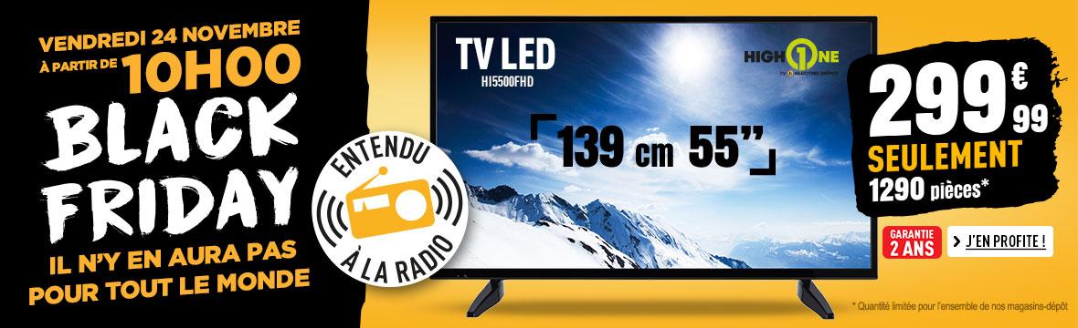 TV LED HIGH ONE HI5500FHD