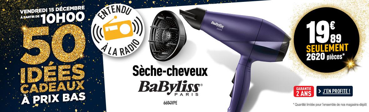 Sèche-Cheveux pro BABYLISS 6604VPE