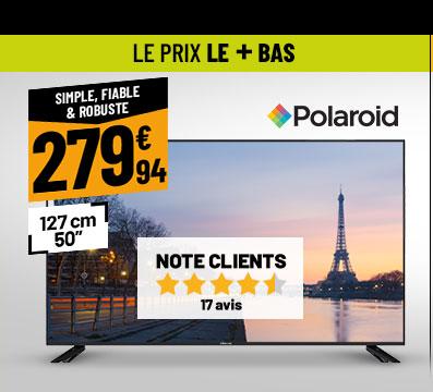 TV UHD 4K POLAROID TQLED50P