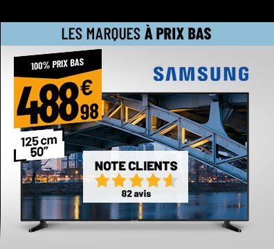 TV 4K SAMSUNG 50RU7025 Smart Wifi
