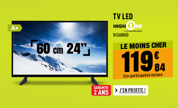 TV LED HIGH ONE HI2400HD