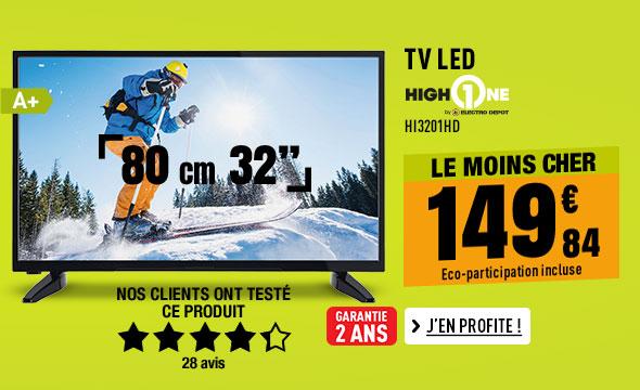 TV LED HIGH ONE HI3201HD