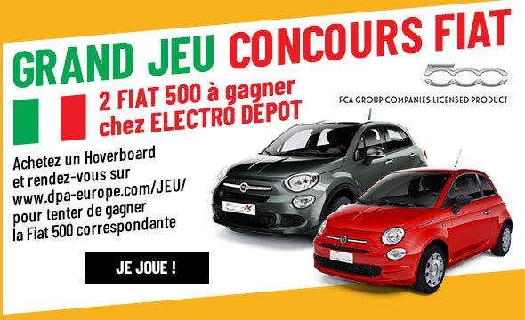 GRAND JEU CONCOURS FIAT