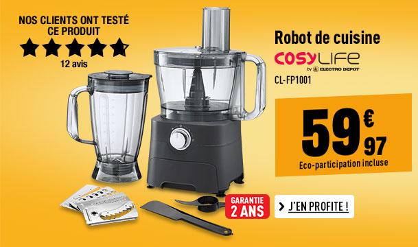 Robot de cuisine COSYLIFE CL-FP1001