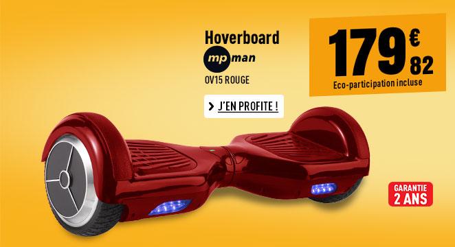 Hoverboard MP MAN OV15 ROUGE