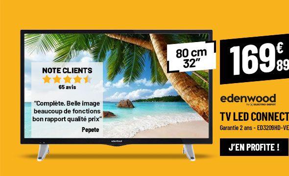 TV LED EDENWOOD ED3209HD-VE SMART WIFI DLNA