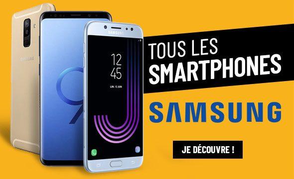 Tous les smartphone Samsung