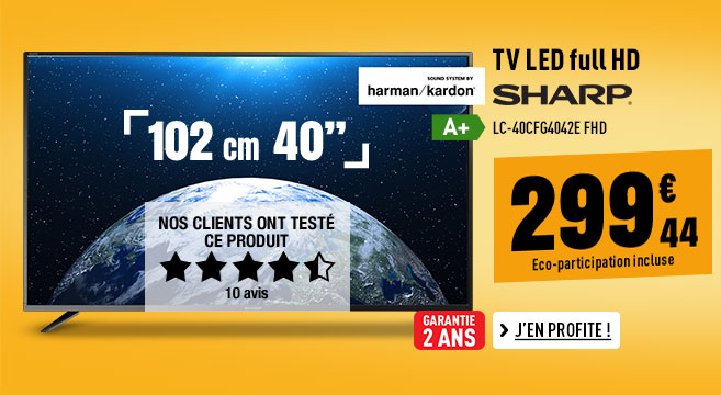 TV LED SHARP LC-40CFG4042E FHD