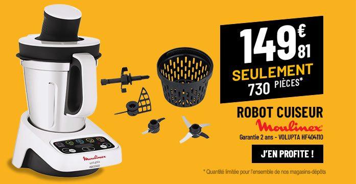 Robot cuiseur MOULINEX VOLUPTA HF404110 3L