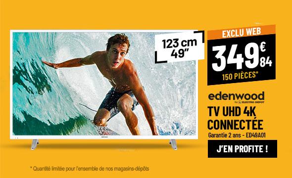 TV UHD 4K EDENWOOD