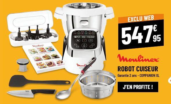 Robot cuiseur MOULINEX COMPANION XL HF805810