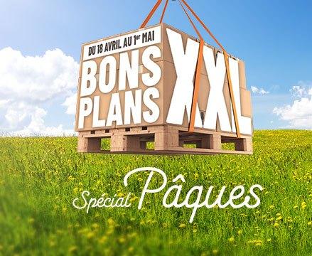 Les bons plans XXL spécial Pâques !