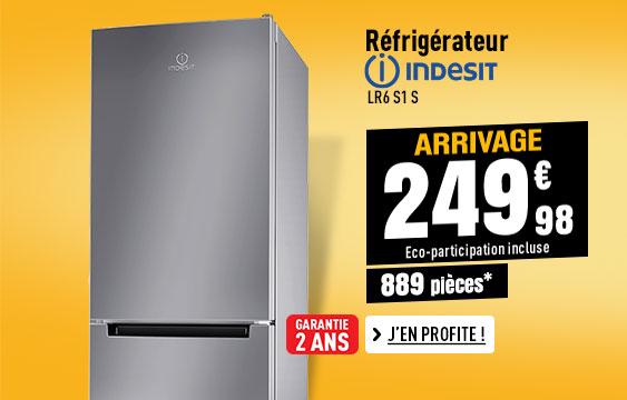 Réfrigérateur combiné INDESIT LR6 S1 S