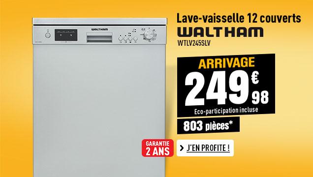Lave vaisselle WALTHAM WTLV 45S++